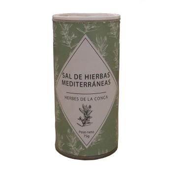 Sal de hierbas mediterráneas (Salero,75g)