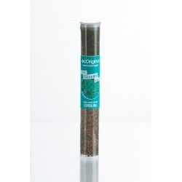 Sésamo ecológico caramelizado con espirulina (70g)