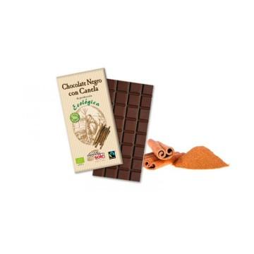Chocolate negro con canela. 100g