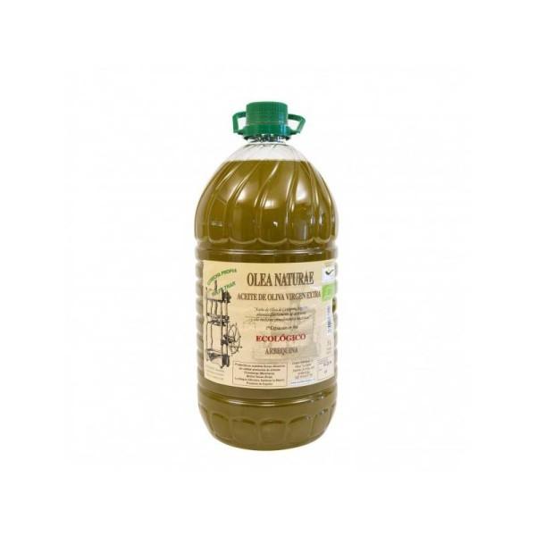 Aceite Ecologico Virgen Extra Arbequina Garrafa 5 Litros