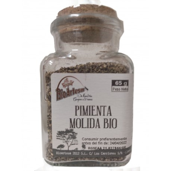 Pimienta Molida Bio (65g.)