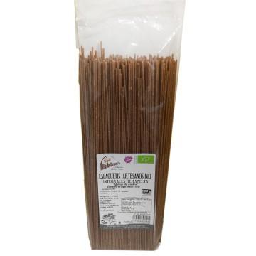 Espaguetis integrales de ESPELTA ecológicos, 500 gr